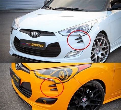 Hyundai Veloster Accessories by S Claws Bumper Accessories 4p For Hyundai Veloster