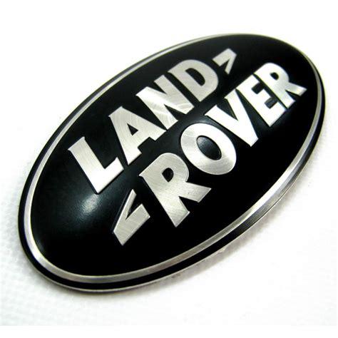 range rover logo badge logo land rover noir et argent ovale logo land rover