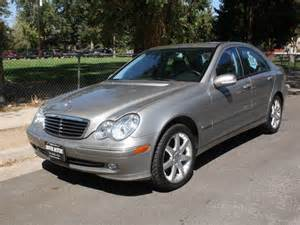 2003 Mercedes C230 Kompressor 2003 Mercedes C Class C230 Kompressor 4dr Sedan For