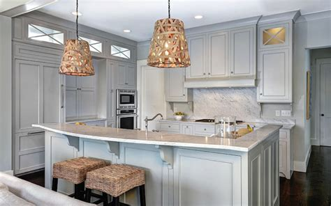 Gray owl transitional kitchen benjamin moore gray owl jill frey kitchen design