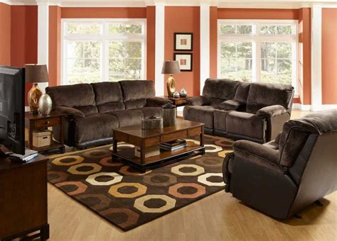 what color to paint a living room with brown couches scandlecandle