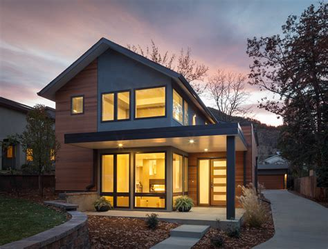 home design exteriors denver value driven modern home modern exterior denver by