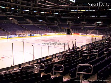 section 10 hockey los angeles kings staples center section 104