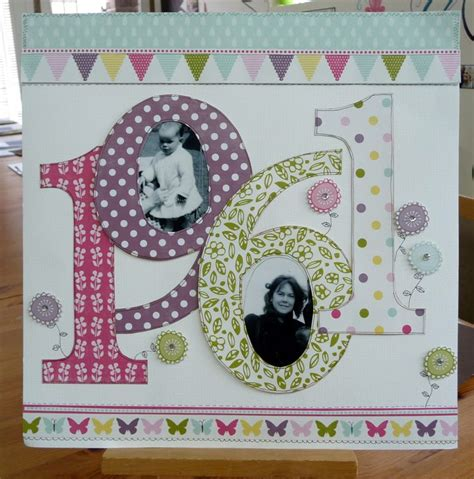Frugal Scrapbooking 2 9 by I Like This For The Birth Years Diy D1 Ch