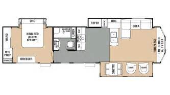 cedar creek rv floor plans 2018 forest river cedar creek cottage 40cfe2 model