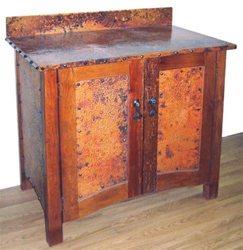 29 inch bathroom vanity 29 inch bonham bathroom vanity rustic copper finish