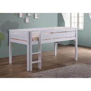 junior loft beds canwood whistler junior loft bed white walmart