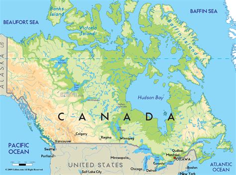 map pf canada canada map geography map of canada city geography