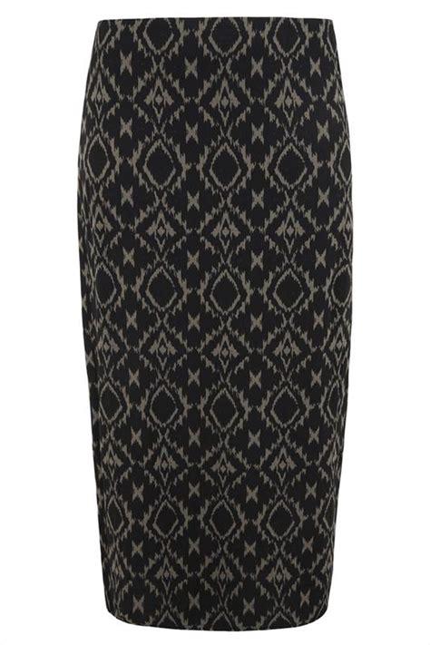 Exclusive Rok Maxi Herlita Skirt Hc Hots Product black and khaki aztec print maxi skirt plus size 14 to 32
