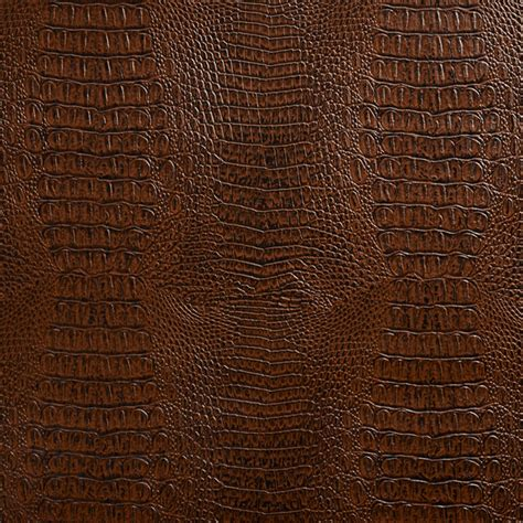 crocodile upholstery fabric brown crocodile faux leather vinyl by the yard