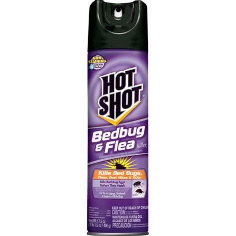 sprays for bed bugs shop hot shot 17 5 oz bed bug aerosol spray at lowes com