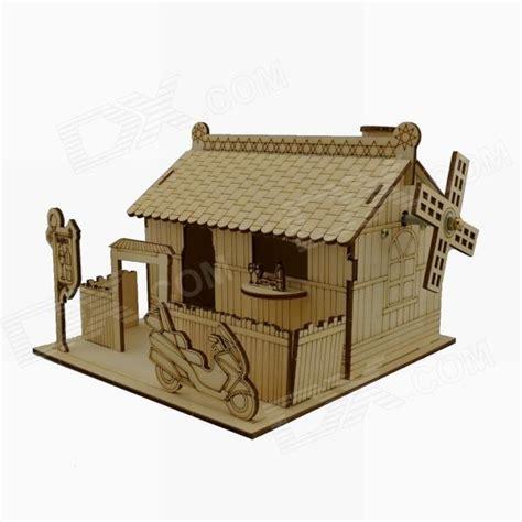 Mainan Edukatif 3d Puzzle Robotime Diy Construction Vehicle Classiccar 3d woodcraft pattern puzzle goods catalog