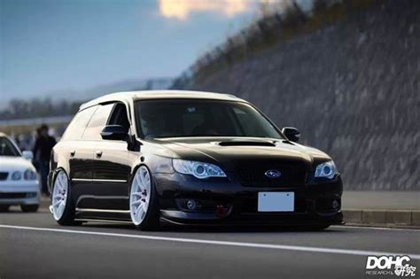 subaru legacy wagon rims this is so clean loving the white wheels with the black