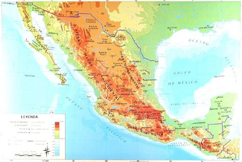 topographic map mexico the gallery for gt world topographic map