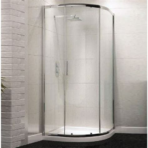 Single Door Shower Enclosure Technik 6 Sliding Single Door Quadrant Enclosure Shower Enclosures Showers