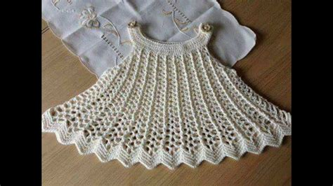 vestidos de tejido para nias imagenes vestidos tejido en crochet para ni 241 a youtube