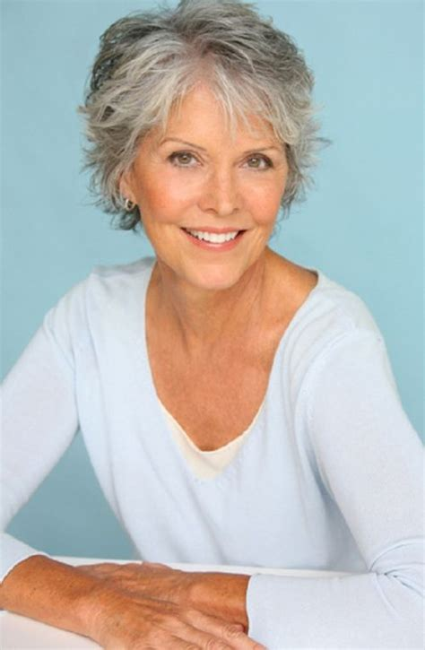 hairstyles for women over 60 with thick slightly curly hair 60 gorgeous gray hair styles grey hairstyle shaggy and