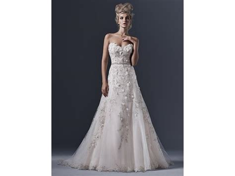 Dress Elita maggie sottero elita 1 550 size 10 sle wedding dresses