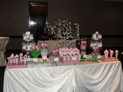 The Amazing Candy Buffets And Fun Food Designers Of Sugar Pink And Green Buffet