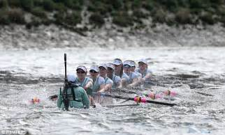 boat crash on thames today oxford win women s boat race as cambridge almost go under