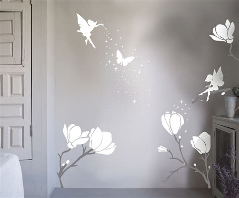 flower wall stickers uk bambizi flower wall stickers