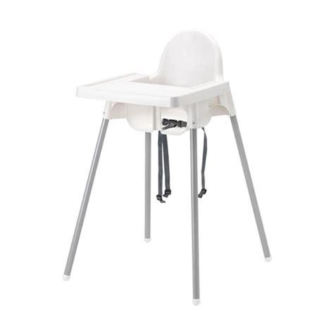 Jual Kursi Anak Ikea jual ikea antilop dengan baki kursi makan anak putih