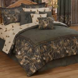 Camo Bedding Sets With Curtains Camo Bedding Browning Whitetails Bedding Collection Camo