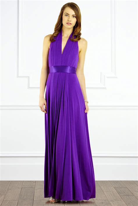 Purple Maxi Dress goddess maxi dress purple wedding dress from coast