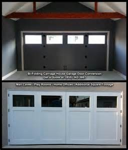 bi folding carriage doors by dynamic garage door from