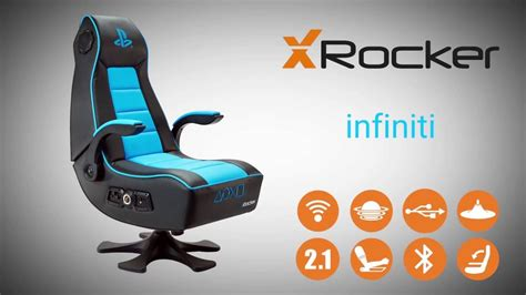 Is It A Chair Is It A Playstation 2 Is It An Ecologically Friendly Chair Made Of Ps2s by X Rocker Infiniti Officially Licensed Playstation Gaming