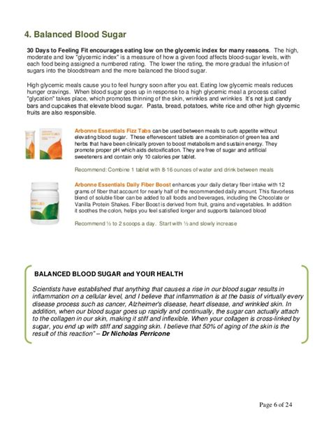 Arbonne Detox And Arthritis by 30 Day Chemical Balance Diet Collectornews