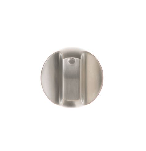 wb03k10267 gas range knob assembly stainless steel