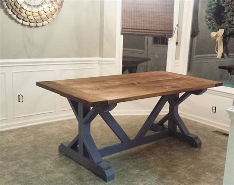 how to make a farmhouse dining table large and beautiful diy farmhouse table build best made plans pinterest