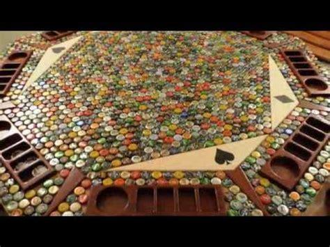 amazing bottle cap poker table youtube