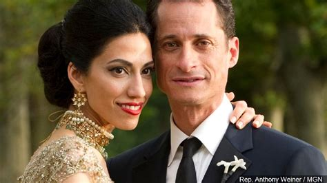 anthony weiner wife reports huma abedin to separate from husband anthony