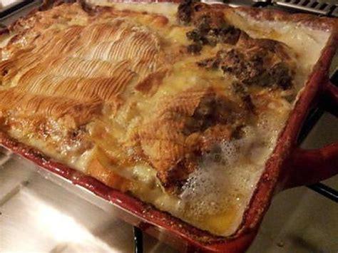 que cuisiner avec de la viande hach馥 recette de tartiflette 224 la viande hach 233
