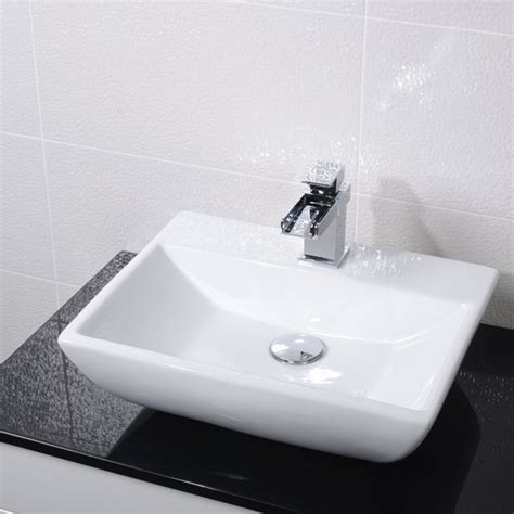 Countertop Wash Basins Uk by Square Countertop Basin
