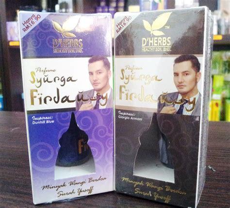 Harga Pasaran Perfume Secret d herbs perfume syurga firdaus untuk lelaki produk