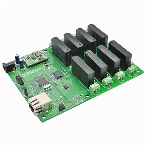 Modul Relay 8 Ch 8 channel ethernet solid state relay module numato lab
