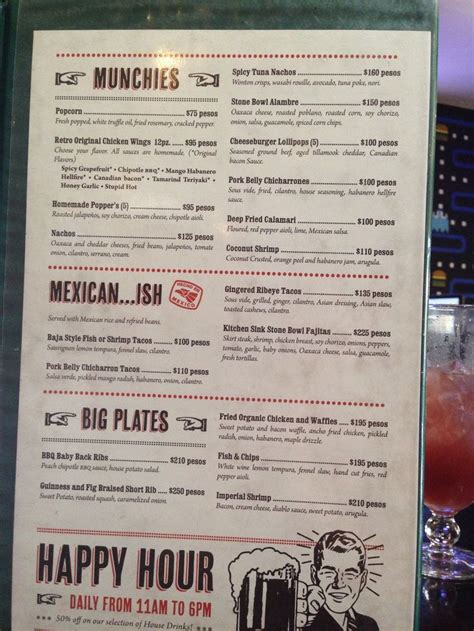 top bar burger menu part 2 of menu the retro burger bar san jose del cabo