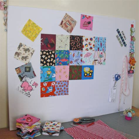 Quilting Wall Board by Inside Craft Room Office On Fabric Storage