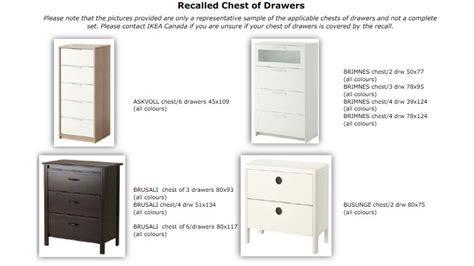 ikea malm dresser price canada ikea recalling malm dresser after three deaths citynews