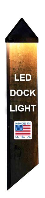 led dock light bulbs led dock lighting for boat docks and pilings synergy