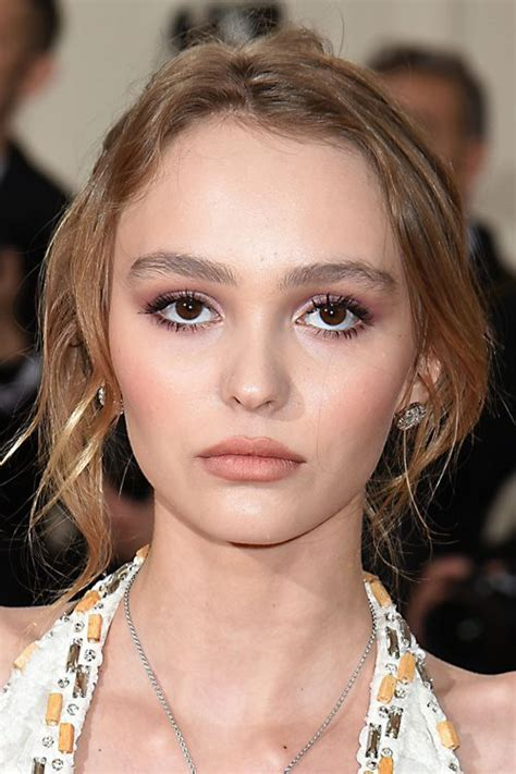 lily rose depp s hairstyles amp hair colors steal her style