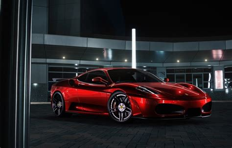 chrome ferrari f430 wallpapers ferrari f430 chrome red color supercar