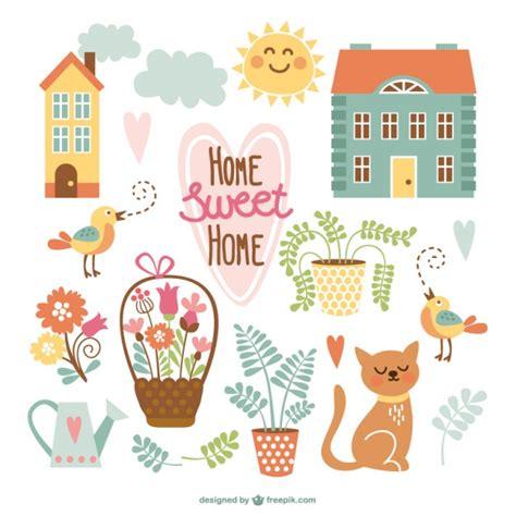 home hogar dulce hogar gracias por vuestro planeta dibujos adorables de hogar dulce hogar descargar vectores gratis