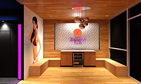 tanning salon layout design zoom tan tanning salon on behance