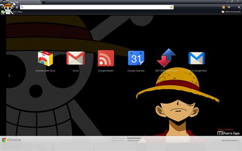 google chrome theme anime one piece 11 one piece themes for google chrome 187 otaku pride