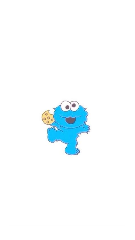 wallpaper for iphone 6 baby cute cookie monster wallpaper 58 images
