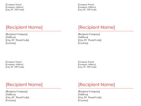 Word Documents Networkedblogs By Ninua Docs Shipping Label Template